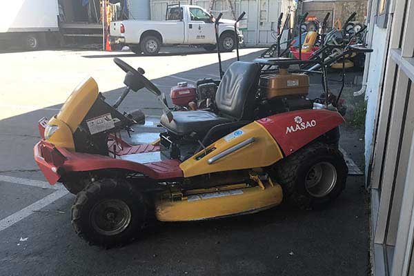 Mower rentals in the Sacramento Metro Area