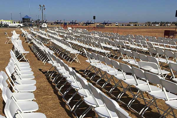 Chair rentals in the Sacramento Metro Area