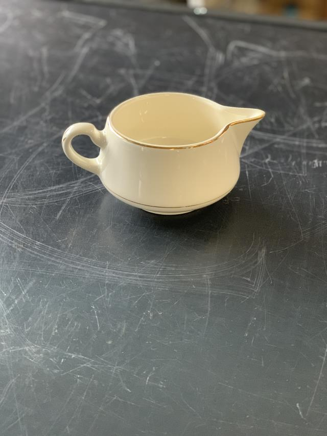 Where to find Creamer Ivory w Gold Trim in Sacramento