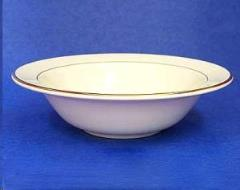 Rental store for Soup Bowl  Or Cereal Bowl  Ivory w Gold in Sacramento CA
