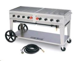 Rental store for BBQ, Gas - 8 Burner  Propane  Stainless in Sacramento CA