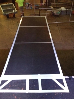 Rental store for Stage,4  X 4  Indoor, Black NS Aluminum in Sacramento CA