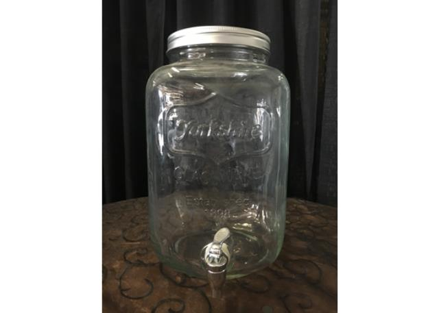 BEVERAGE DISP 2 GAL GLASS MASON JAR Rentals Sacramento CA Where to