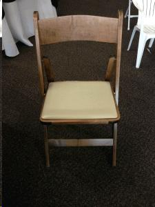 Where to find Chair, Walnut Wood w Ivory Seat in Sacramento