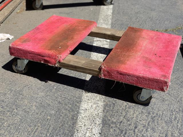 DOLLY PIANO 4 WHEEL 900 RED Rental Sacramento CA, Rent DOLLY
