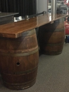 Rental store for Bar Table, Wine Barrel 8 in Sacramento CA