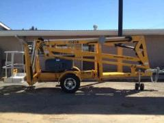 Rental store for Boomlift, 45  Tow Articulating BilJax in Sacramento CA