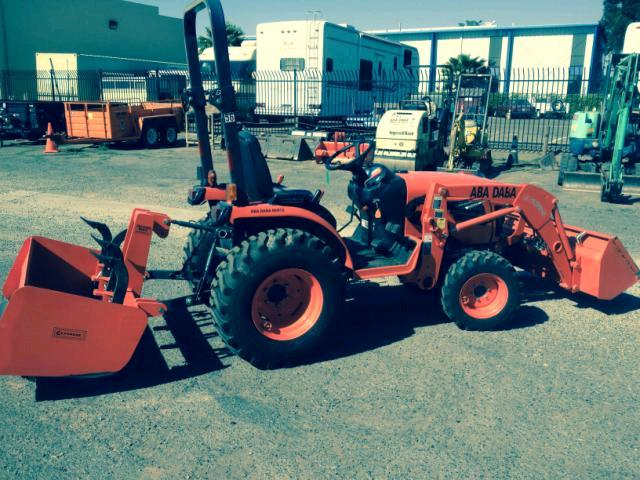 Where to find Tractor, Kubota Diesel 4WD in Sacramento