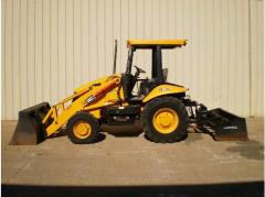 Rental store for Tractor, Full Size 4WD Loader in Sacramento CA