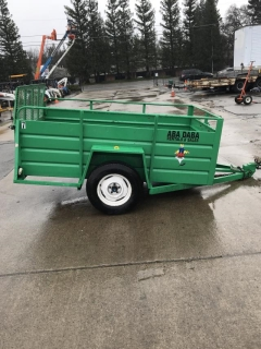 Rental store for Trailer,  5 X 8  Utility GREEN in Sacramento CA