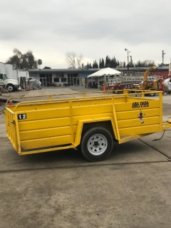Rental store for Trailer,  5 X 10  Utility YELLOW in Sacramento CA