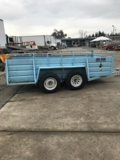 Rental store for Trailer,  5 X 12  Utility BLUE in Sacramento CA