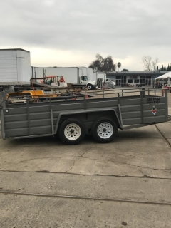 Rental store for Trailer,  5 X 14  Utility GREY in Sacramento CA