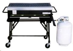 Rental store for Barbeque, Gas - 4 Burner  Propane in Sacramento CA