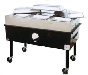 Where to find Steam Table, Four Pan  Propane in Sacramento