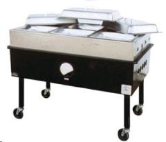 Rental store for Steam Table, Four Pan  Propane in Sacramento CA