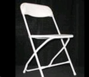 Where to find Chair, White Plastic  Folding in Sacramento