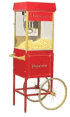 Rental store for Popcorn Machine, Deluxe w Cart in Sacramento CA