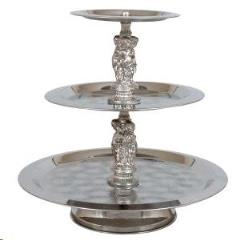 Rental store for Tray, 3 Tier S.S. w Silver Trim in Sacramento CA