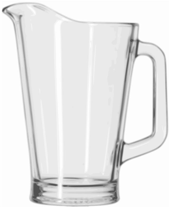 Where to find Water Pitcher, Glass 46 OZ. in Sacramento