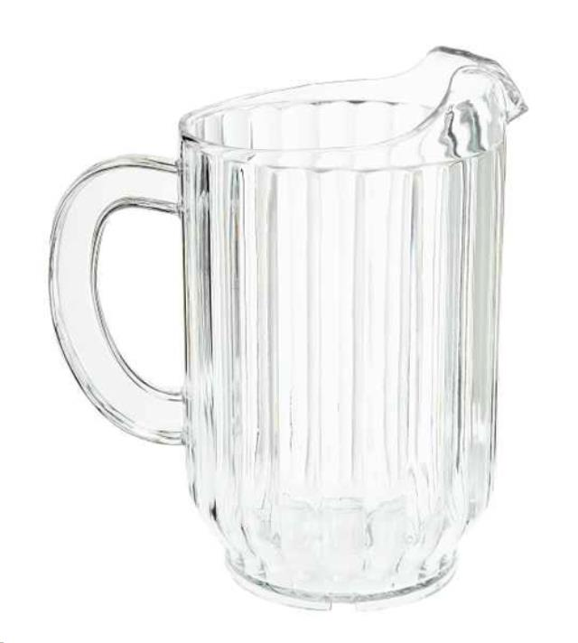 Where to find Water Pitcher, Plastic 60 OZ. in Sacramento