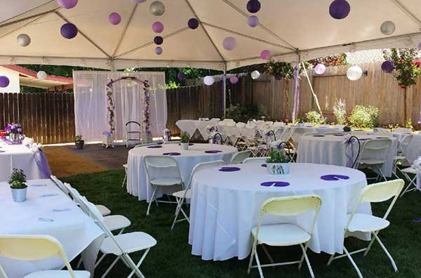 Tent rentals in the Sacramento Metro Area